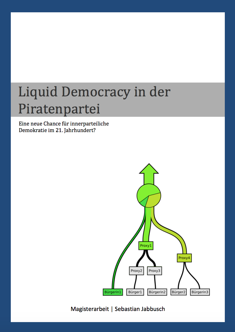 Liquid Democracy Piratenpartei Sebastian Jabbusch Magisterarbeit